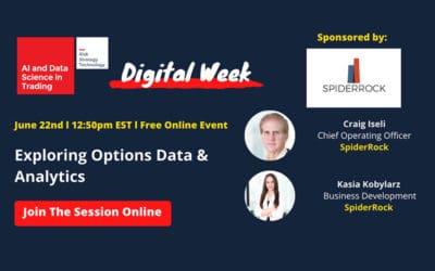 Digital Week – Exploring Options Data & Analytics