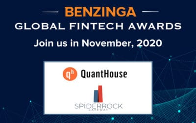 """SpiderRock nominated for """"Best New Product"""" at 2020 Benzinga Global Fintech Awards"""