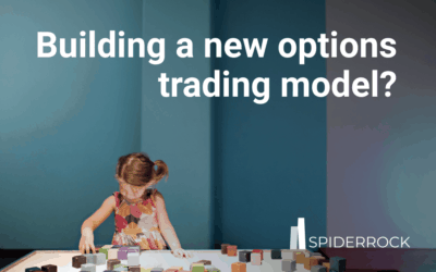 Building a new options trading model?